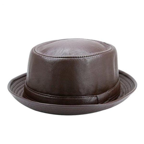 Leather Simple Stylish Retro Trendy Hat