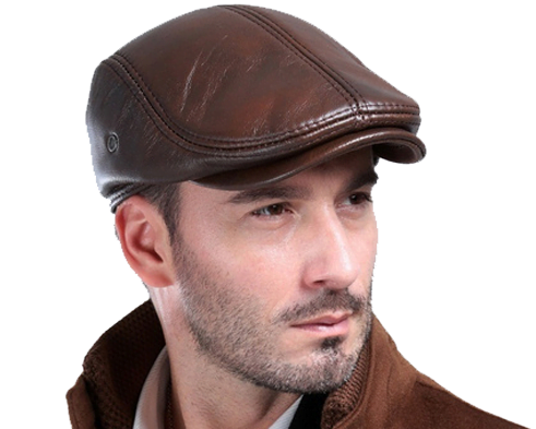 Leather Hats and Caps